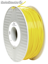 Verbatim 3D Printer Filamento PLA 2,85mm 1 kg amarillo