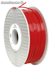 Verbatim 3D Printer Filamento PLA 2,85mm 1 kg rojo