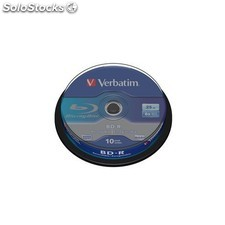 Verbatim - bd-r sl 25GB 6 x 10 Pack Spindle bd-r 25GB 10pieza(s)