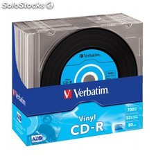 Verbatim - CD-r azo Data Vinyl CD-r 700MB 10pieza(s)