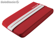 Verbatim GT SuperSpeed Portable 500GB USB 3.0 rojo/blanco(53084)