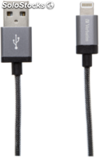 Verbatim Lightning cable Sync & Charge 120cm gris