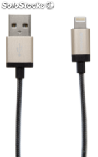 Verbatim Lightning Cable Sync & Charge 30cm gold