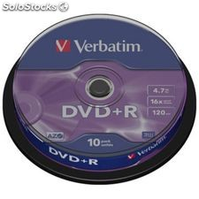 Verbatim spindle 10DVD+r 4.7GB