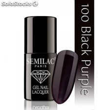 Vernis gel nº100 (Black purple)