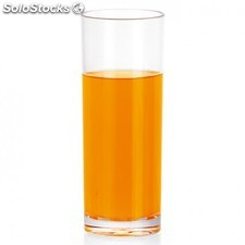 "Verre ""whisky"" - 350 ml transparent polycarbonate"