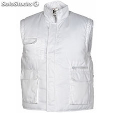 Veste sans manches Homme blanc workwear collection