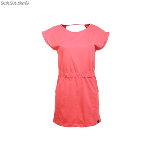 Vestido basic beach time red - red