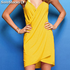 Vestido playero amarillo - low cost - 8436550132731 - B826