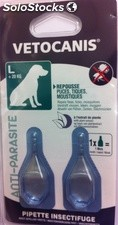 Veto pip insect gd chien 2X2ML