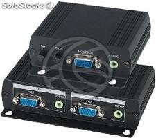 VGA and Audio Extender UTP transmitter and receiver Cat.5 VE02AL (SH32)