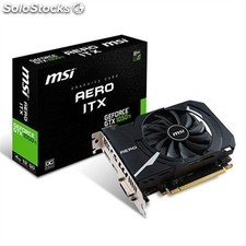 Vga msi geforce gtx 1050 ti aero itx 4GB r.a