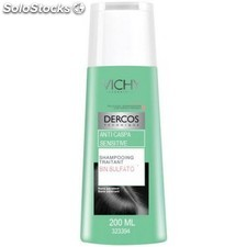 Vichy dercos champu anticaspa sensitive picor 200 ml sin sulfatos