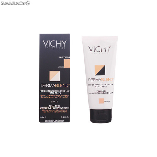 vichy dermablend fond de teint correcteur total corps 16h medium. Black Bedroom Furniture Sets. Home Design Ideas