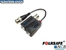 Video Balun Hd Pasivo Terminal Cable Bnc (El Par)
