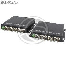 Video by 20Km singlemode fiber optic RS485 8V (CW18)