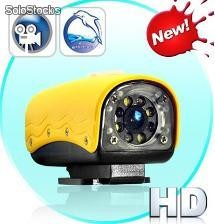 Video camara hd sumergible para deportes