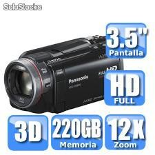 Video camara panasonic hdc-hs900k 3d