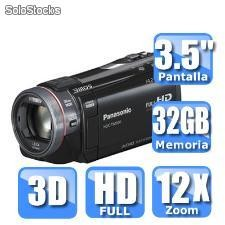 Video camara panasonic hdc-tm900k 3d