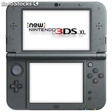 Video consola portátil Nintendo 3DS xl negro metalico