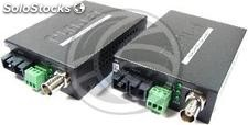 Video over fiber optic SC singlemode 15 km (VF-102S15-KIT) (CW03)