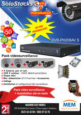 Video surveillance pack 4 cameras