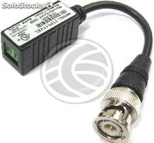 Video Transceiver bnc to Terminal Block 2-pin 10cm TTP111VEL (SI14)