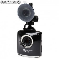 "Videocamara para coche HP f520g - pant 2.4""/6.09cm - wfhd - on/off auto - ang"