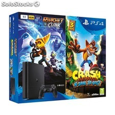 Videoconsola sony PS4 1TB slim + crash bandicoot PGK02-A0015697