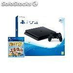 Videoconsola sony PS4 500GB slim+has sido tu!