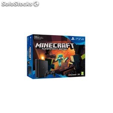 Videoconsola sony PS4 500GB slim + minecraft
