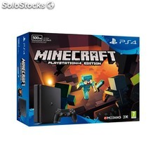 Videoconsola sony PS4 500GB slim + minecraft PGK02-A0016049