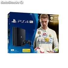 Videoconsola sony PS4 pro 1TB+ fifa 18+ps plus 14D PGK02-A0017035