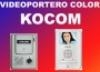 Videoportero color kocom (color manos libres)