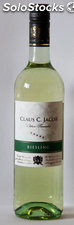 Vino Blanco Claus C. Jacob Riesling Edition Sommelier - Valle del Rhin