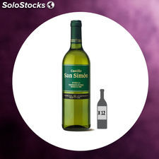 Vino Castillo San Simon 75 Cl Do Jumilla Blanco Caja 12