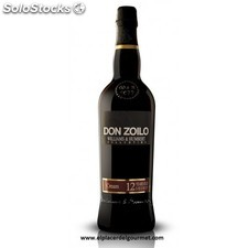 vino jerez cream don zoilo 75 cl. 12 años