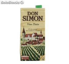 Vino Tinto Don Simon 1 L. Brick