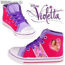 Violetta Disney Canvas Boots