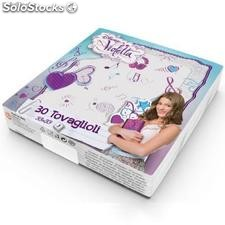 Violetta Disney Paquet de 30 serviettes de table