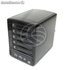 Vipower External Case sata-hdd to eSATA (5xHDD/Plastic/Negro) (VI03-0002)
