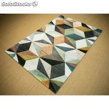 Visual 33. alfombra moderna. - home