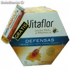 Vitaflor defensas jalea real 1000 ml. 20 ampollas