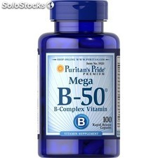 Vitamina b-50 complex 100 tabletas puritan