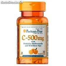 Vitamina c 500MG 30 tabletas puritan