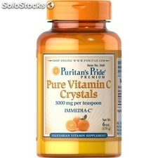 Vitamina c pura 5000 mg (crystal) puritan pride