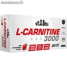 VitOBest L-Carnitina 3000 mg 1 vial x 10 ml