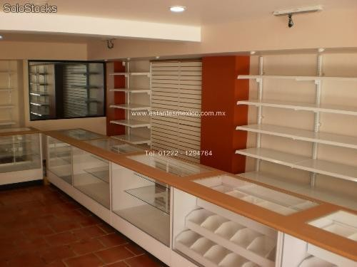 Vitrinas para papeler as mercer as farmacias boutiques pticas - Muebles para merceria ...