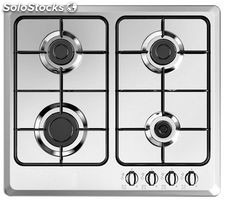 Vitrokitchen placa gas inox EN6FIN gas natural