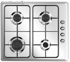 Vitrokitchen placa gas inox EN6LIN gas natural
